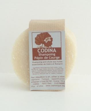 shampooing solide Bio anti chute Codina